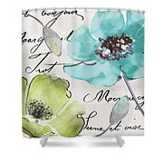 Fleurs De France  Shower Curtain