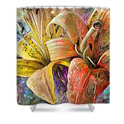 Fleurs De Lys 01 Shower Curtain
