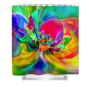 Flexibility 20ca Shower Curtain