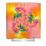 Flexibility 26ba Shower Curtain
