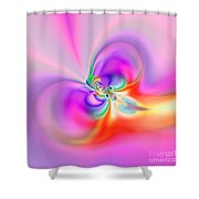 Flexibility 39b1ba Shower Curtain