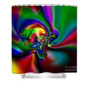 Flexibility 49a1 Shower Curtain