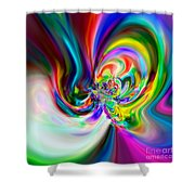 Flexibility 51ba Shower Curtain