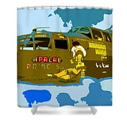 Flight Of The Apache Princess Shower Curtain