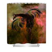 Flight Of The Phoenix Shower Curtain