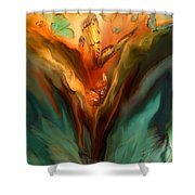 Flight Of The Spirit Shower Curtain