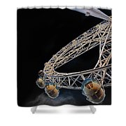 Flight Path Shower Curtain