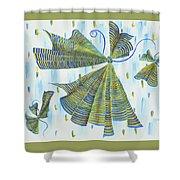 Flights Of Fancy Shower Curtain