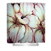 Flighty Floral Shower Curtain