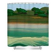 Flinders Island  Shower Curtain