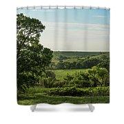 Flint Hills Landscape 784 Shower Curtain