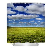 Flint Hills Panorama 1 Shower Curtain