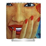 Flirtation #168 Shower Curtain