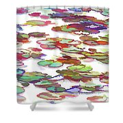 Float On The Water Shower Curtain
