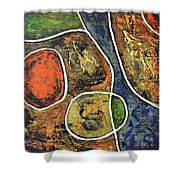 Floater 881 Shower Curtain