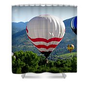 Floatin' In The Rockies 20 Shower Curtain