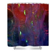 Floating Bubbles # 21 Shower Curtain