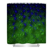 Floating Bubbles # 24 Shower Curtain