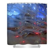 Floating Bubbles # 4 Shower Curtain