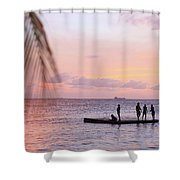 Floating Dream Shower Curtain