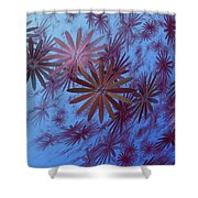Floating Floral - 001 Shower Curtain