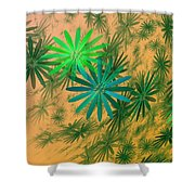 Floating Floral - 004 Shower Curtain