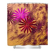 Floating Floral - 005 Shower Curtain