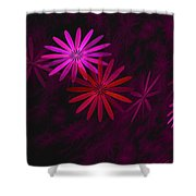Floating Floral - 006 Shower Curtain