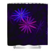 Floating Floral - 009 Shower Curtain