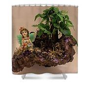 Floating Island Fairy Shower Curtain