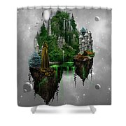 Floating Kingdom Shower Curtain
