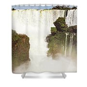 Floating Land Shower Curtain