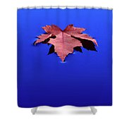 Floating Leaf 1 - Maple Shower Curtain
