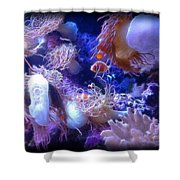 Floating Life II Shower Curtain