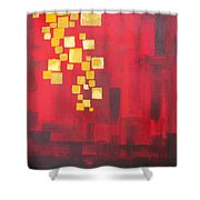 Floating Lights Shower Curtain