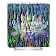 Floating Lotus - Soul Sister Shower Curtain