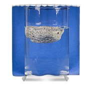 Floating Pumice Shower Curtain