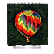Floating Rainbow Shower Curtain