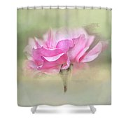 Floating Rose Shower Curtain
