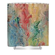 Floating Thoughts Shower Curtain