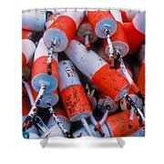 Floats Shower Curtain