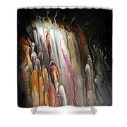 Flooded Memory Shower Curtain