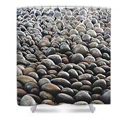 Floor Of Rocks Shower Curtain