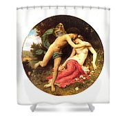 Flora And Zephyr 1875 Shower Curtain