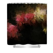 Flora Feathers Shower Curtain