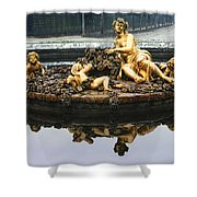 Flora Fountain - Palace Of Versailles Shower Curtain