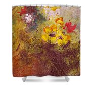 Flora II Shower Curtain