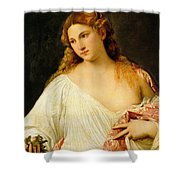 Flora Shower Curtain by Titian