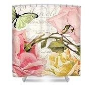 Florabella I Shower Curtain