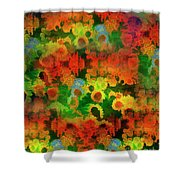 Floral Abundance Shower Curtain